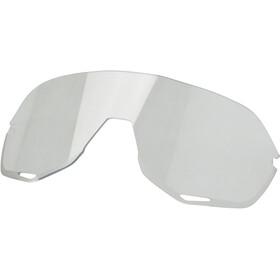 100% S2 Gafas, blanco/rojo